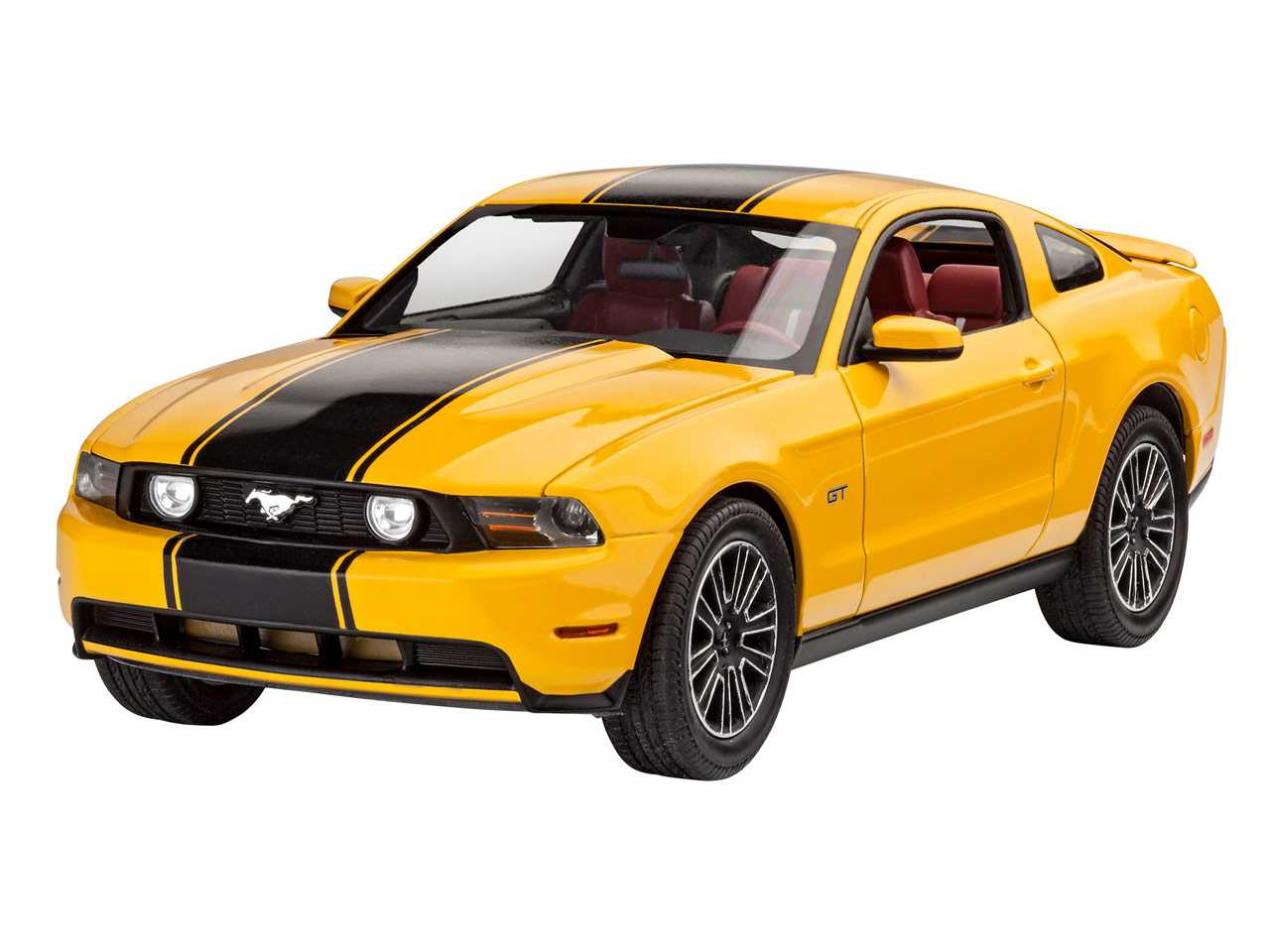 1:25 Ford Mustang GT, 2010 (Model Set)