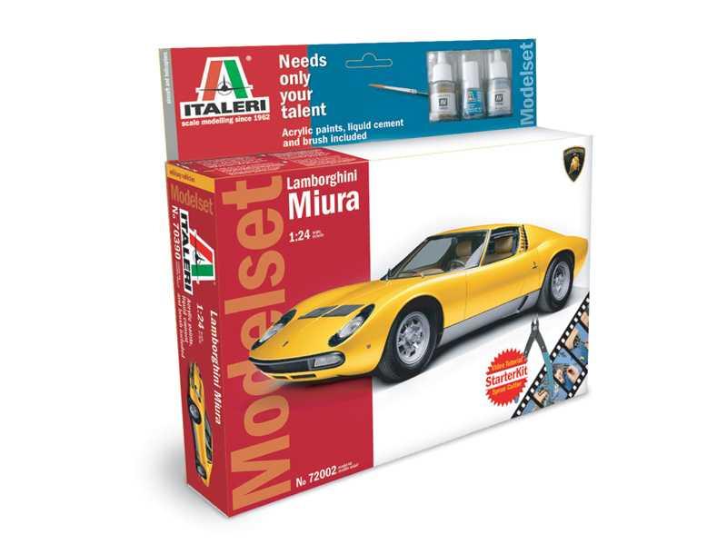 View Product - 1:24 Lamborghini Miura (Model Set)