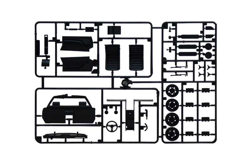 1:24 Lamborghini Miura (Model Set)