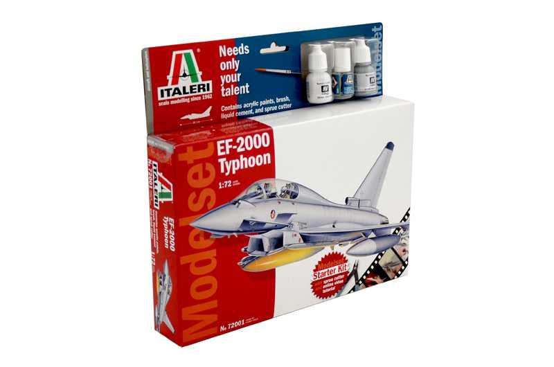 Náhled produktu - 1:72 Eurofighter 2000 Typhoon (Model Set)