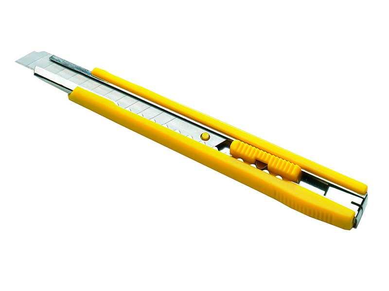 Náhled produktu - Nůž s odlamovací čepelí s kovovou výztuhou