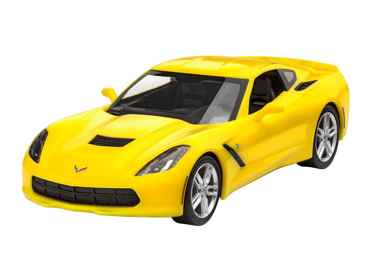 1:25 Corvette Stingray 2014 (Easy-Click System, Model Set)
