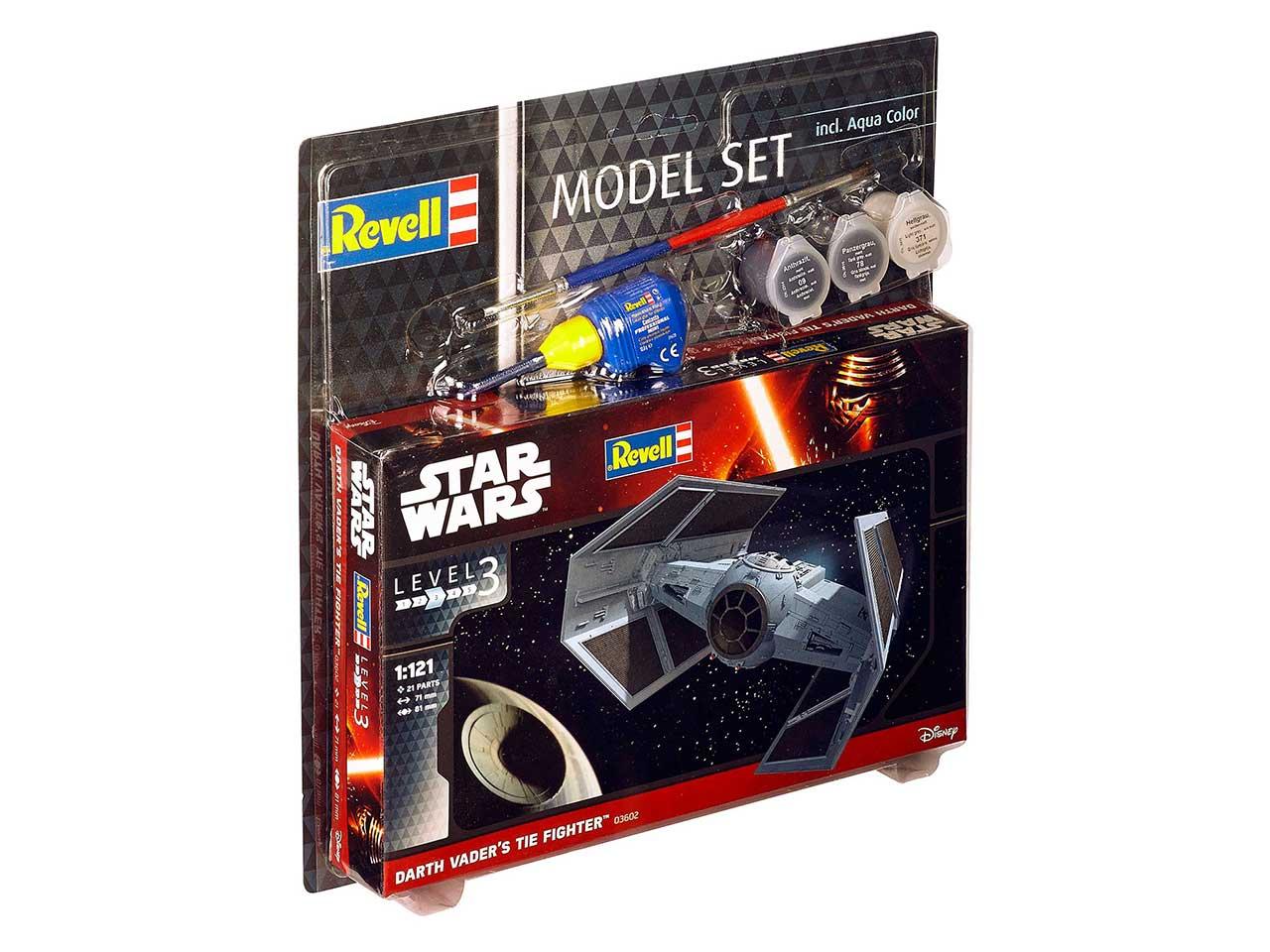 1:121 Darth Vader's TIE Fighter, Star Wars (Model Set)