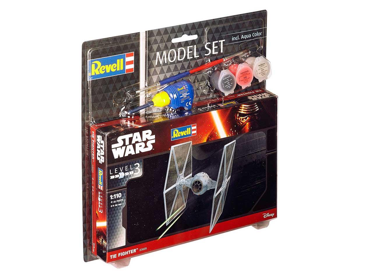 1:110 TIE Fighter, Star Wars (Model Set)