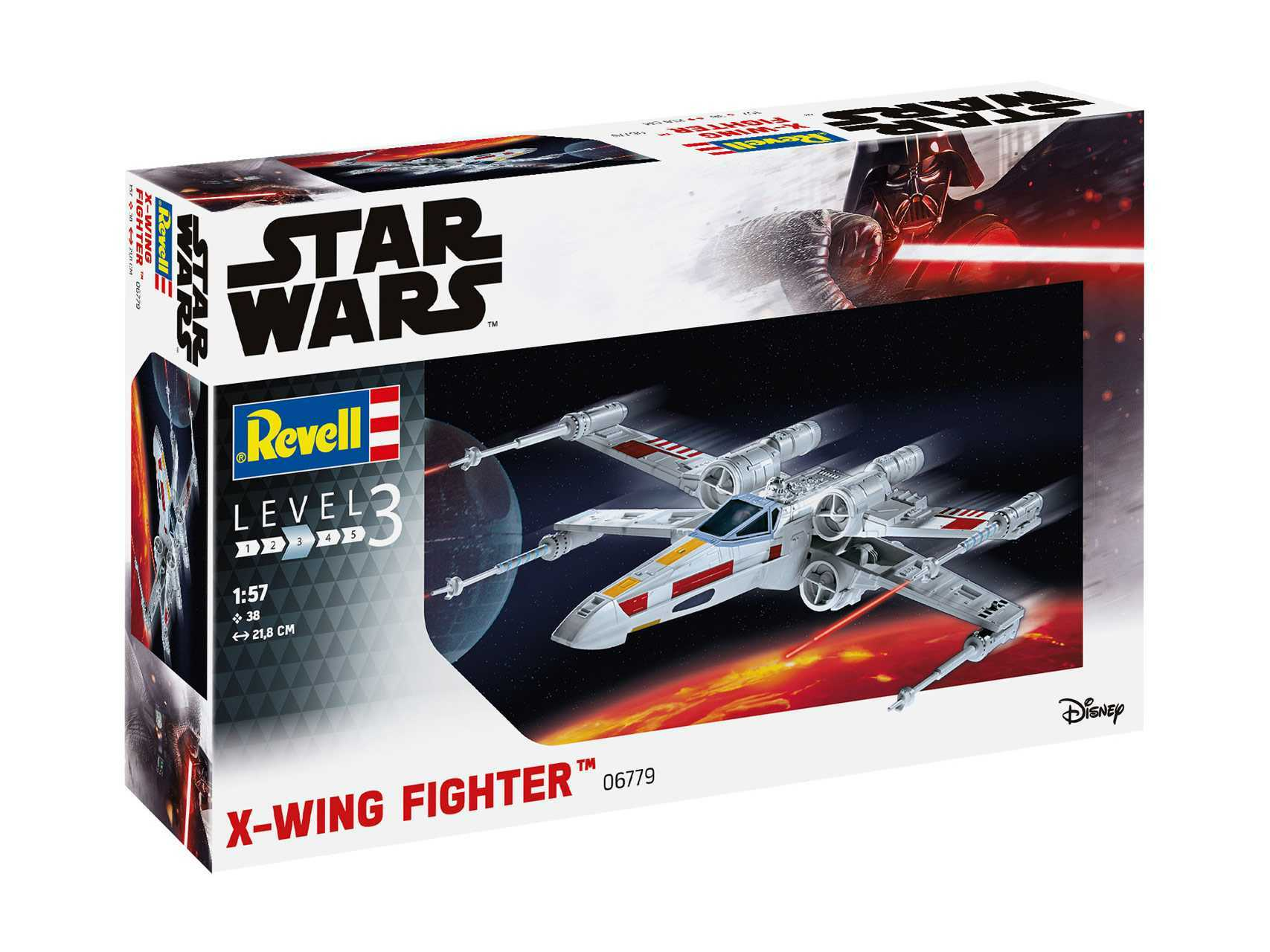 1:57 X-Wing Fighter (Model Set)
