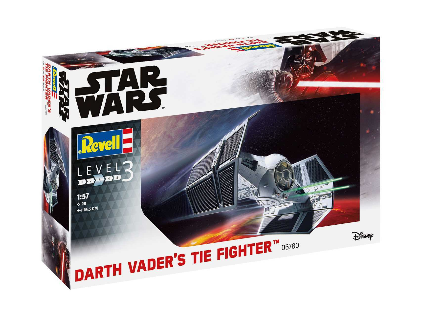 1:57 Darth Vader's TIE Fighter (Model Set)