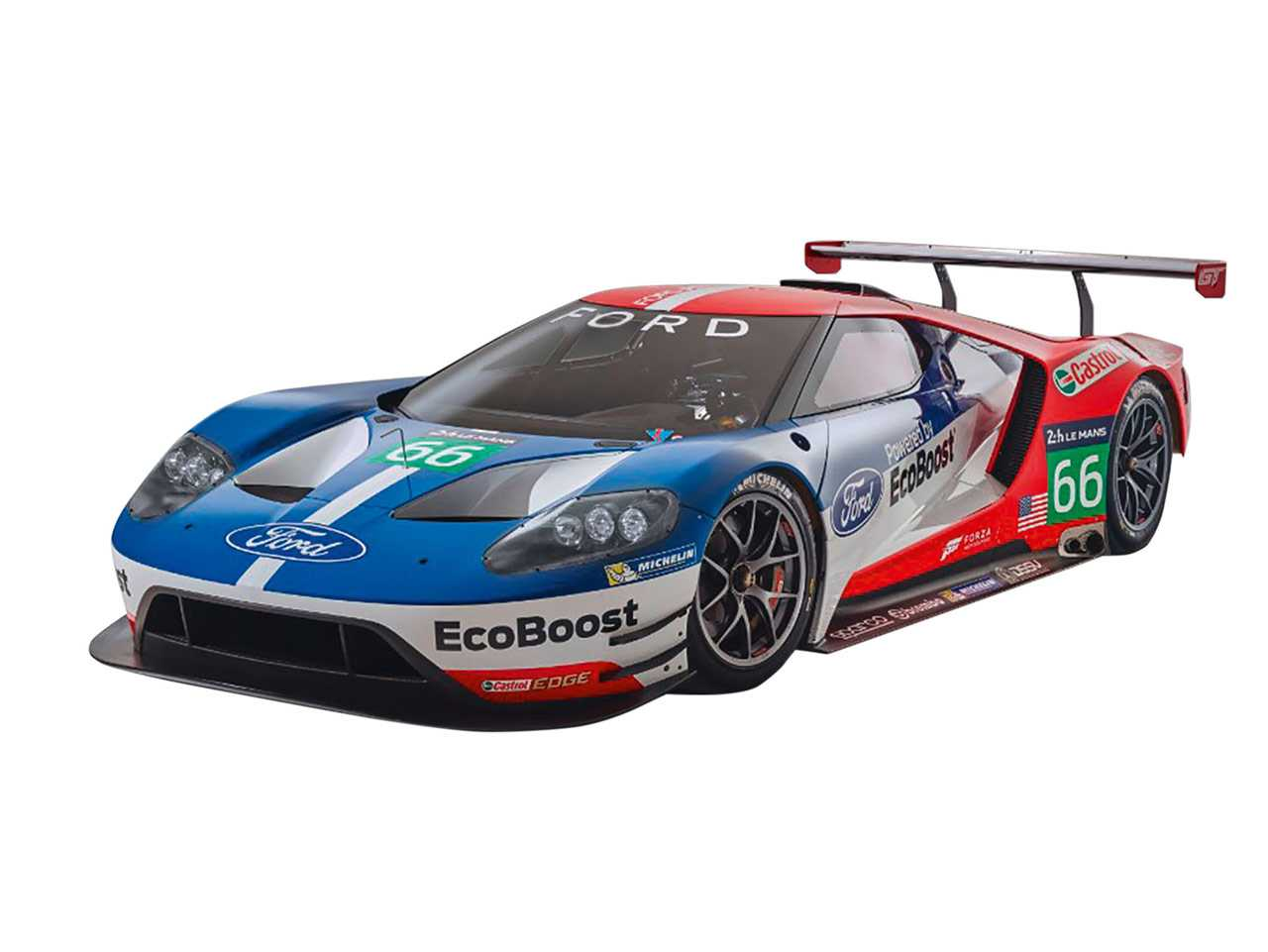 1:24 Ford GT Le Mans 2017 (Model Set)