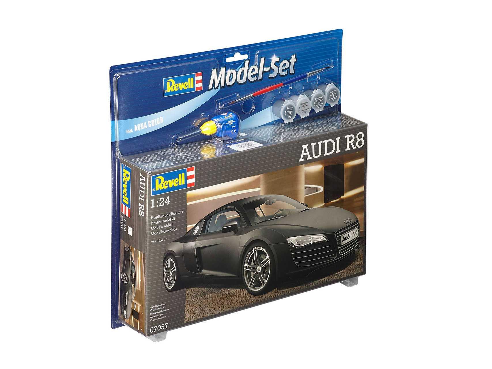 1/24 Plastikový model Set - auto 67057 - Audi R8