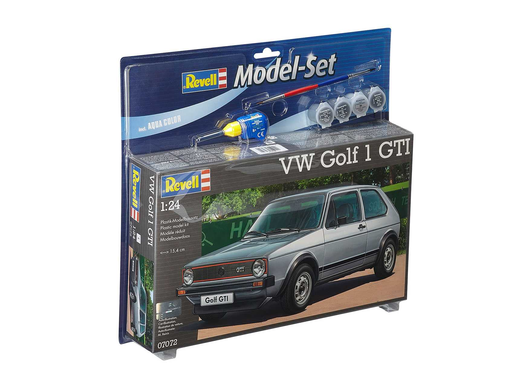 Revell - auto 67072 - VW Golf 1 GTI 1:24