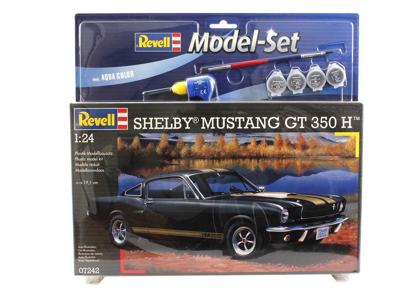 1:24 Shelby Mustang GT 350 (Model Set)