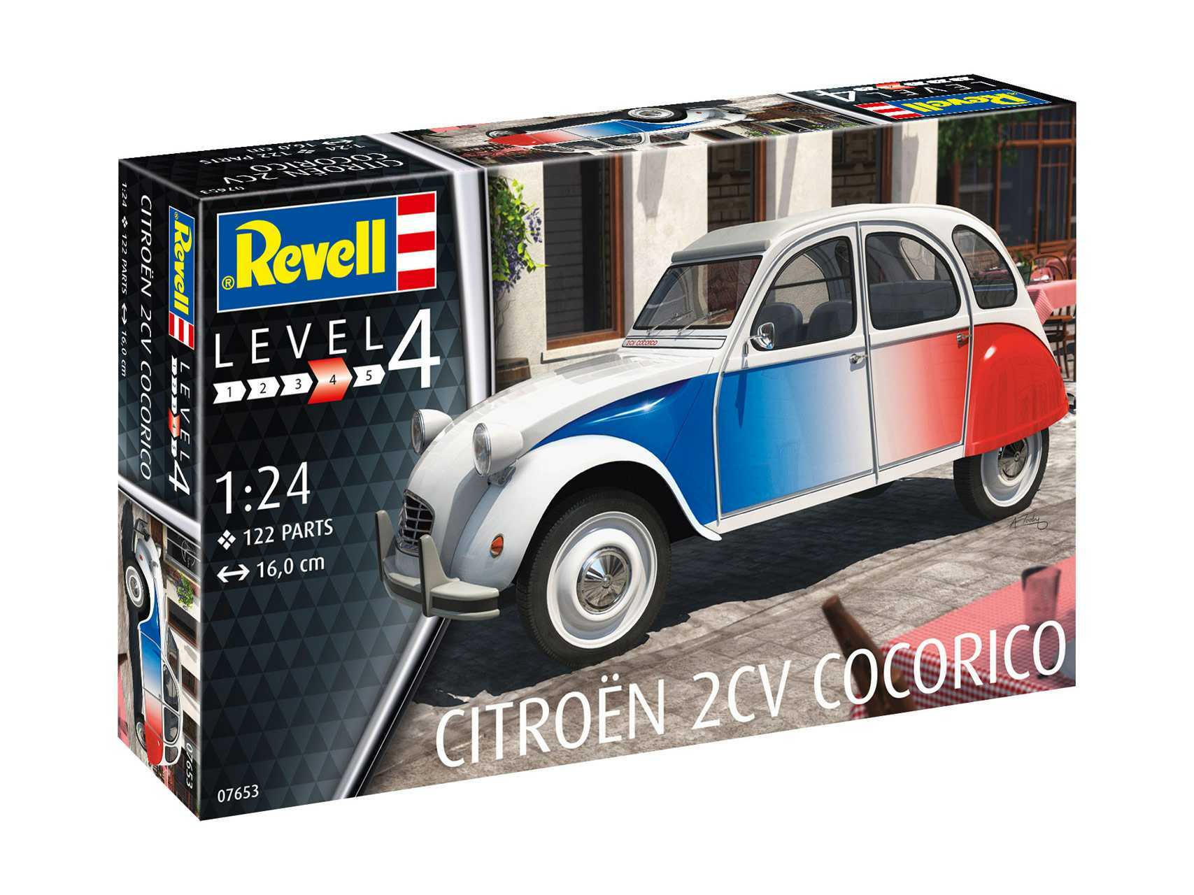 1:24 Citroën 2CV Cocorico (Model Set)