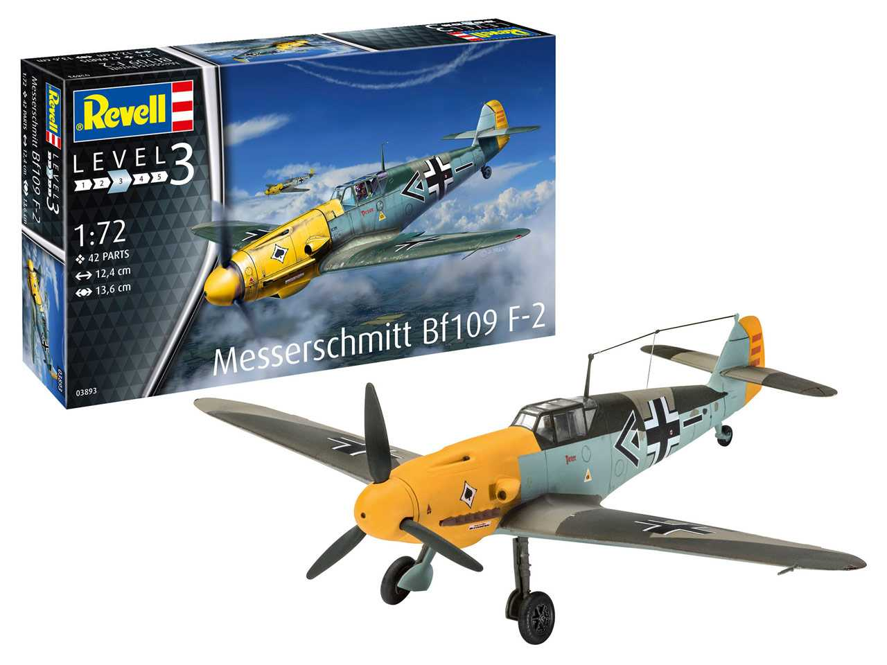 1:72 Messerschmitt Bf 109 F-2 (Model Set)