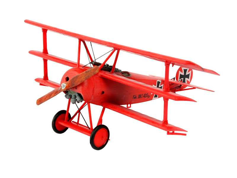 1:72 Fokker Dr.1 (Model Set)