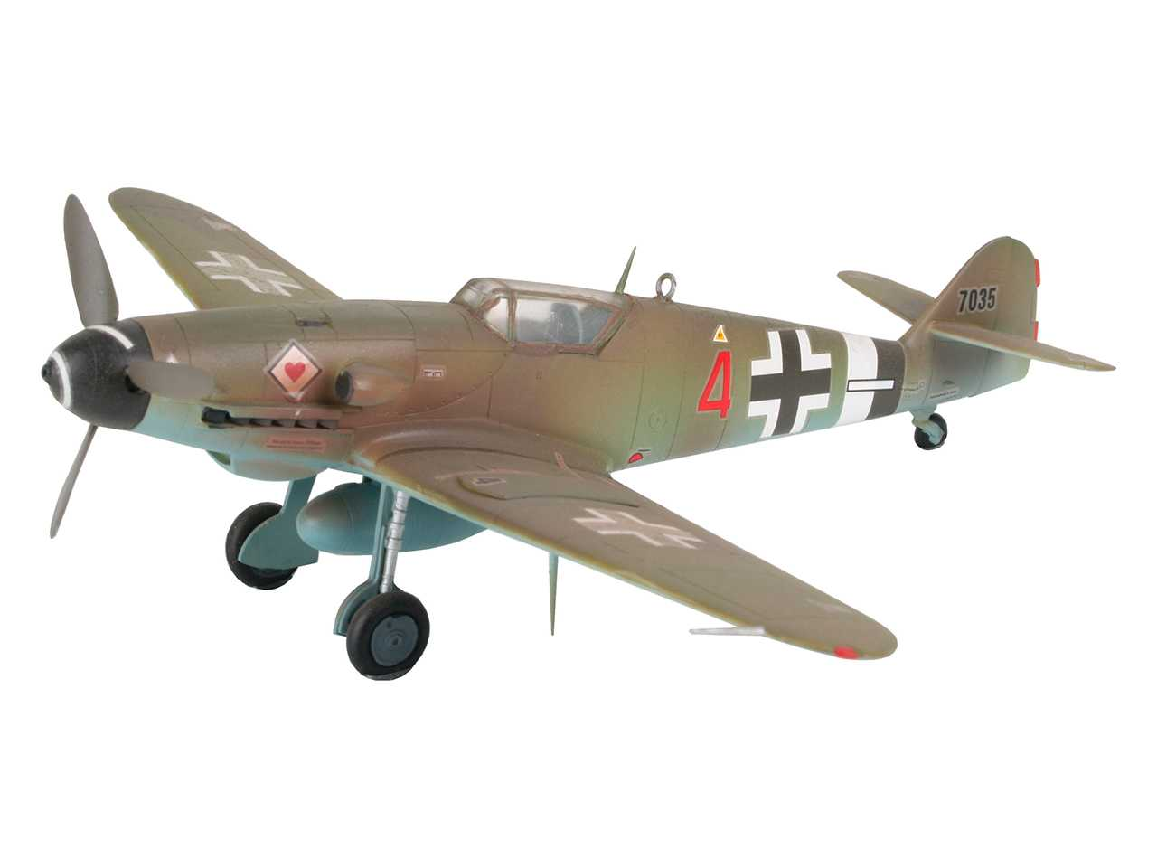 View Product - 1:72 Messerschmitt Bf 109 G-10 (Model Set)