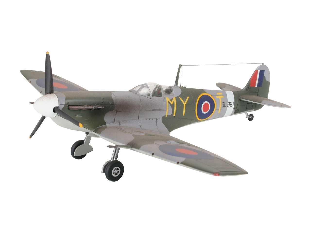 Náhľad produktu - 1:72 Supermarine Spitfire Mk.V (Model Set)