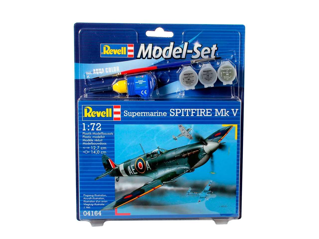 1:72 Supermarine Spitfire Mk.V (Model Set)