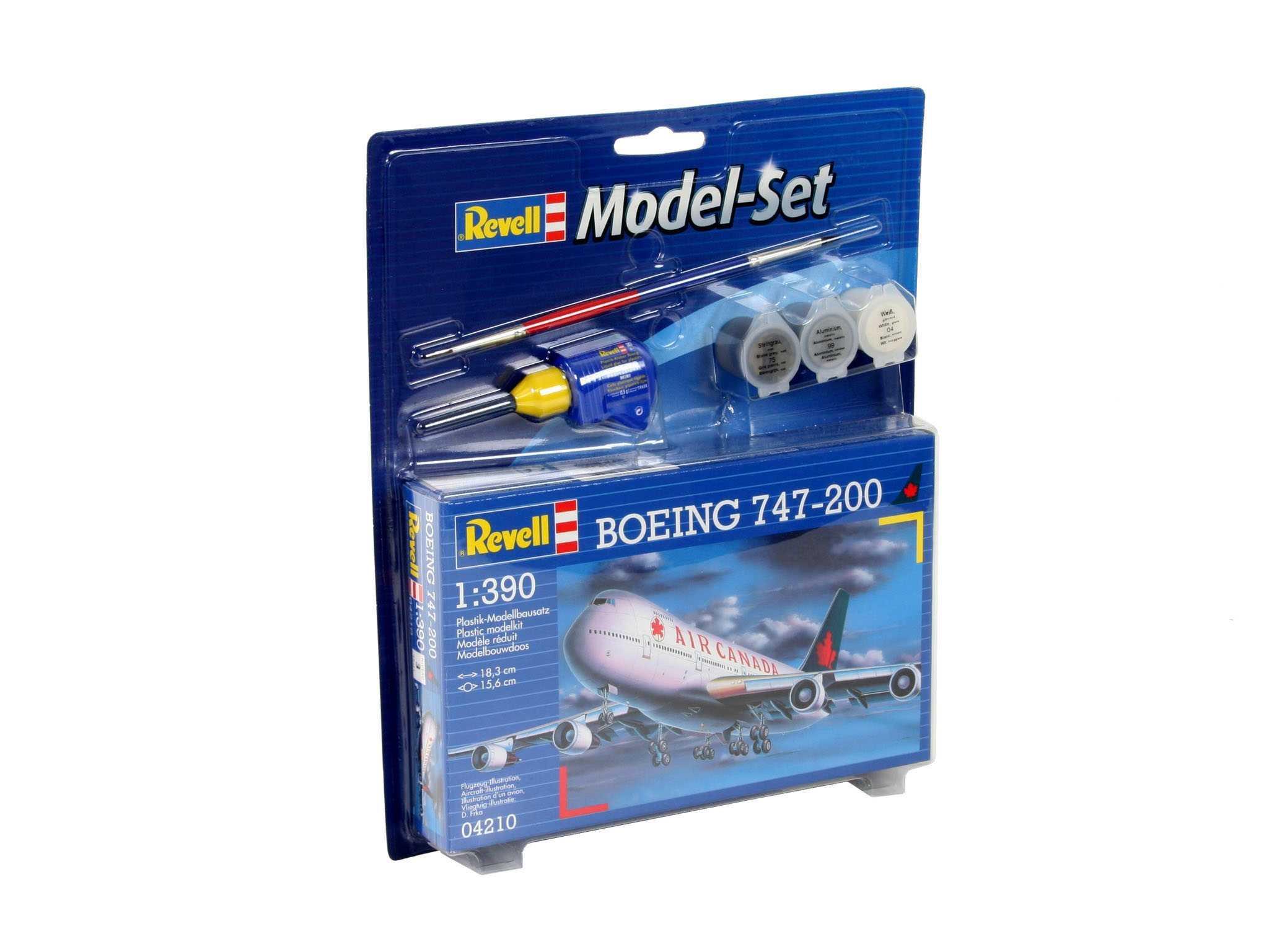 1:390 Boeing 747-200, Air Canada (Model Set)