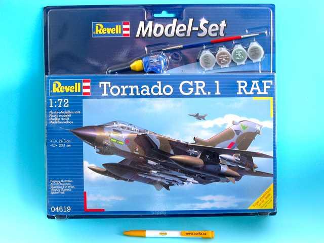 Náhľad produktu - 1:72 Panavia Tornado GR.1, RAF (Model Set)