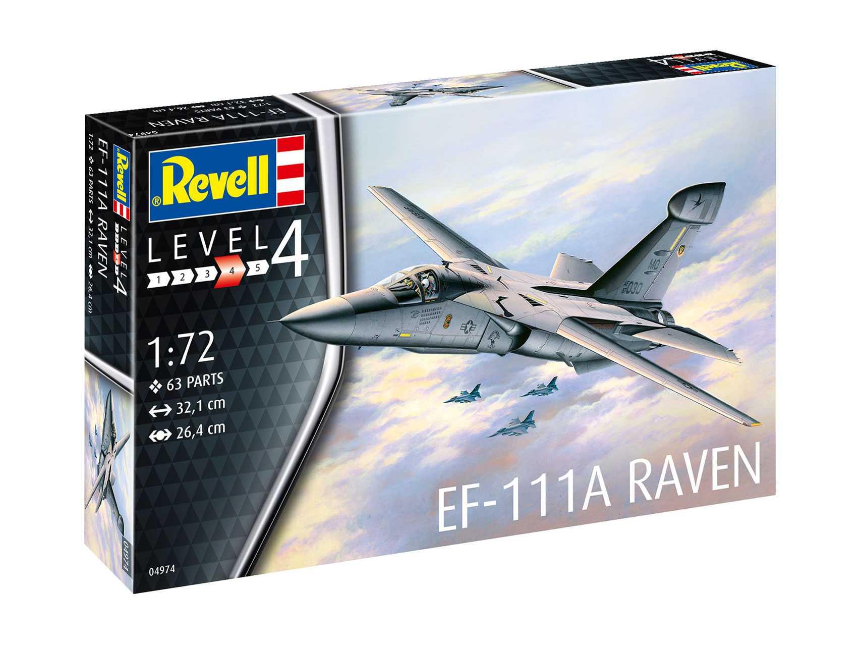 1:72 General Dynamics EF-111A Raven (Model Set)