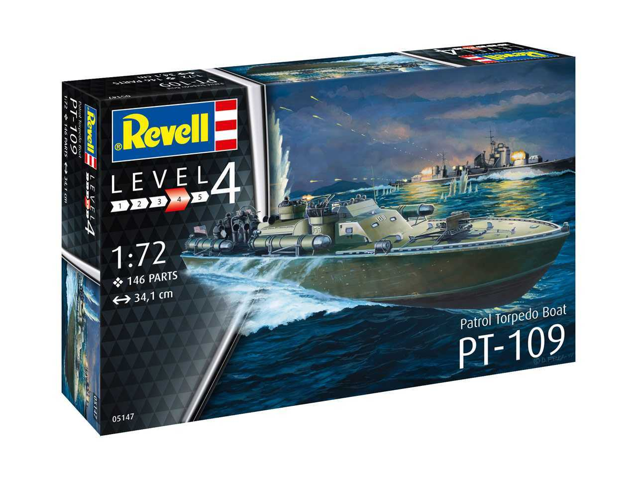 1:72 PT-109 Patrol Torpedo Boat (Model Set)