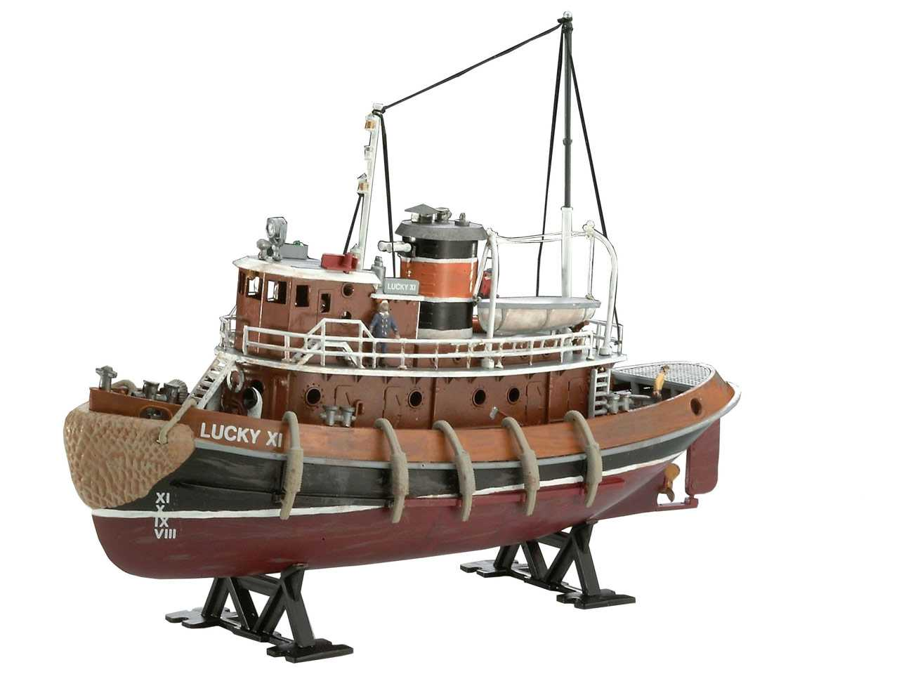 1:108 Harbour Tug Boat (Model Set)
