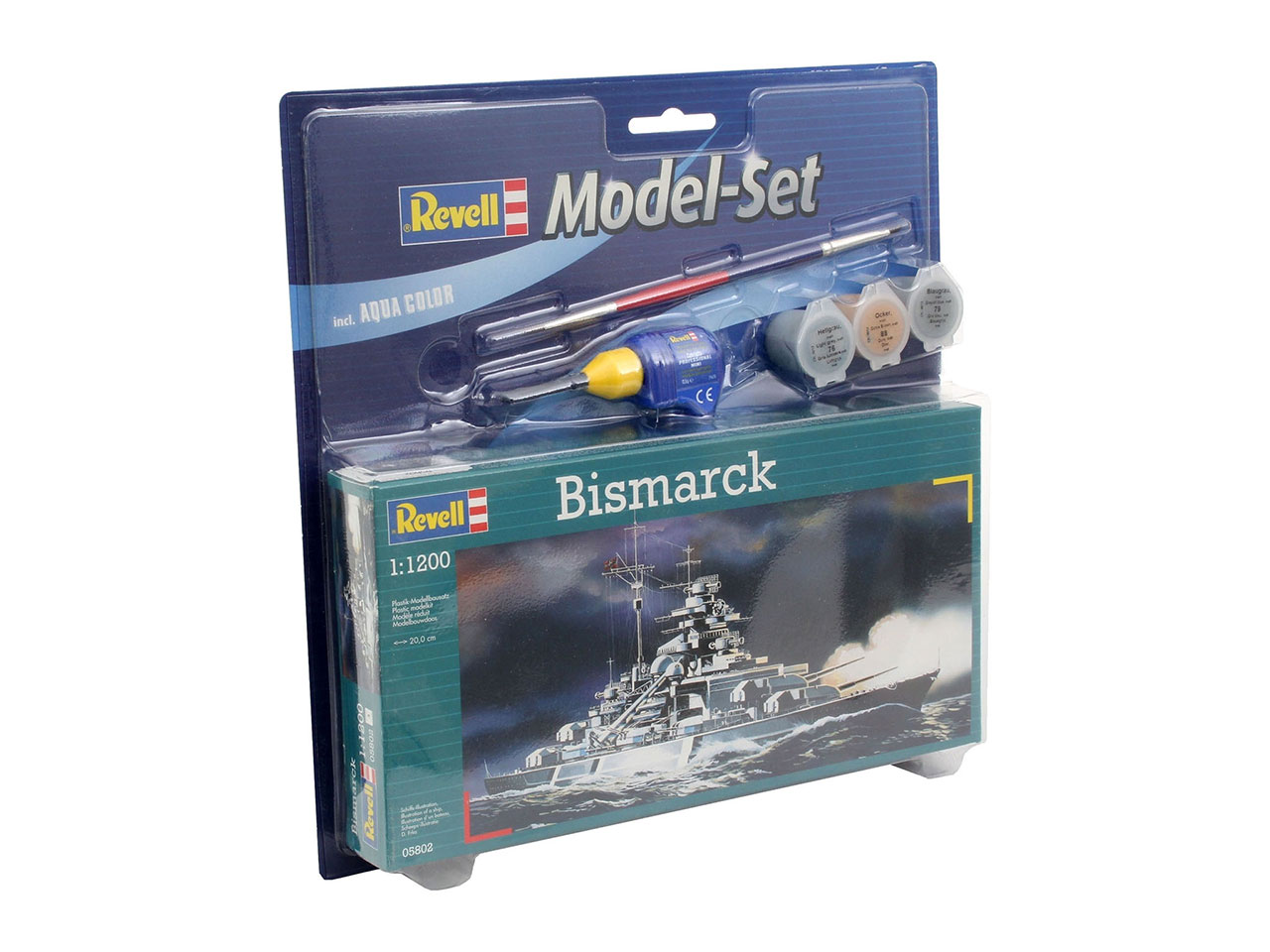 1:1200 Bismarck (Model Set)