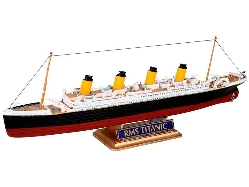 1:1200 R.M.S. Titanic (Model Set)
