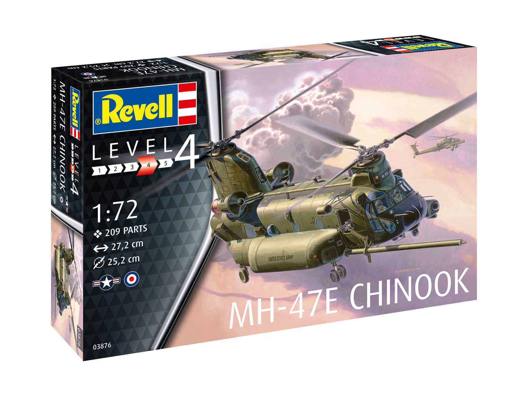 1:72 MH-47 Chinook (Model Set)