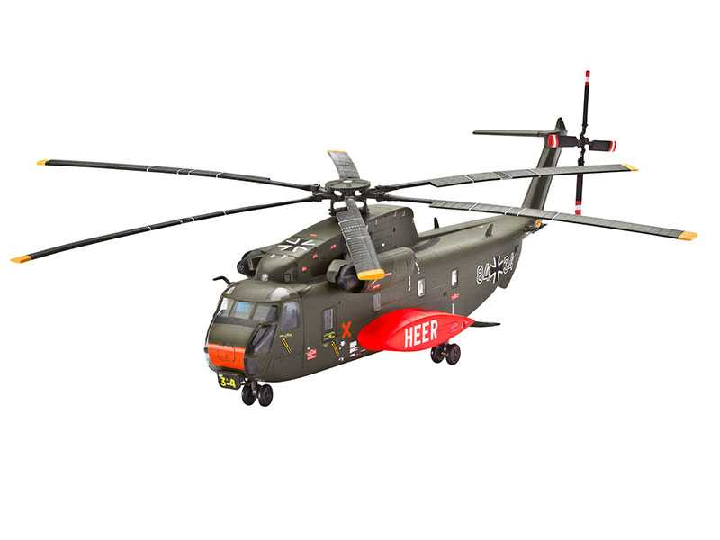 1:144 CH-53G Heavy Transport Helicopter