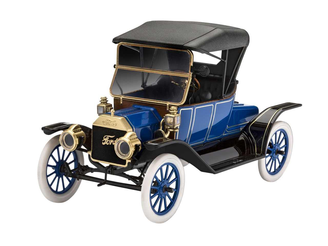 1:24 Ford Model T Roadster (1913) Model Set
