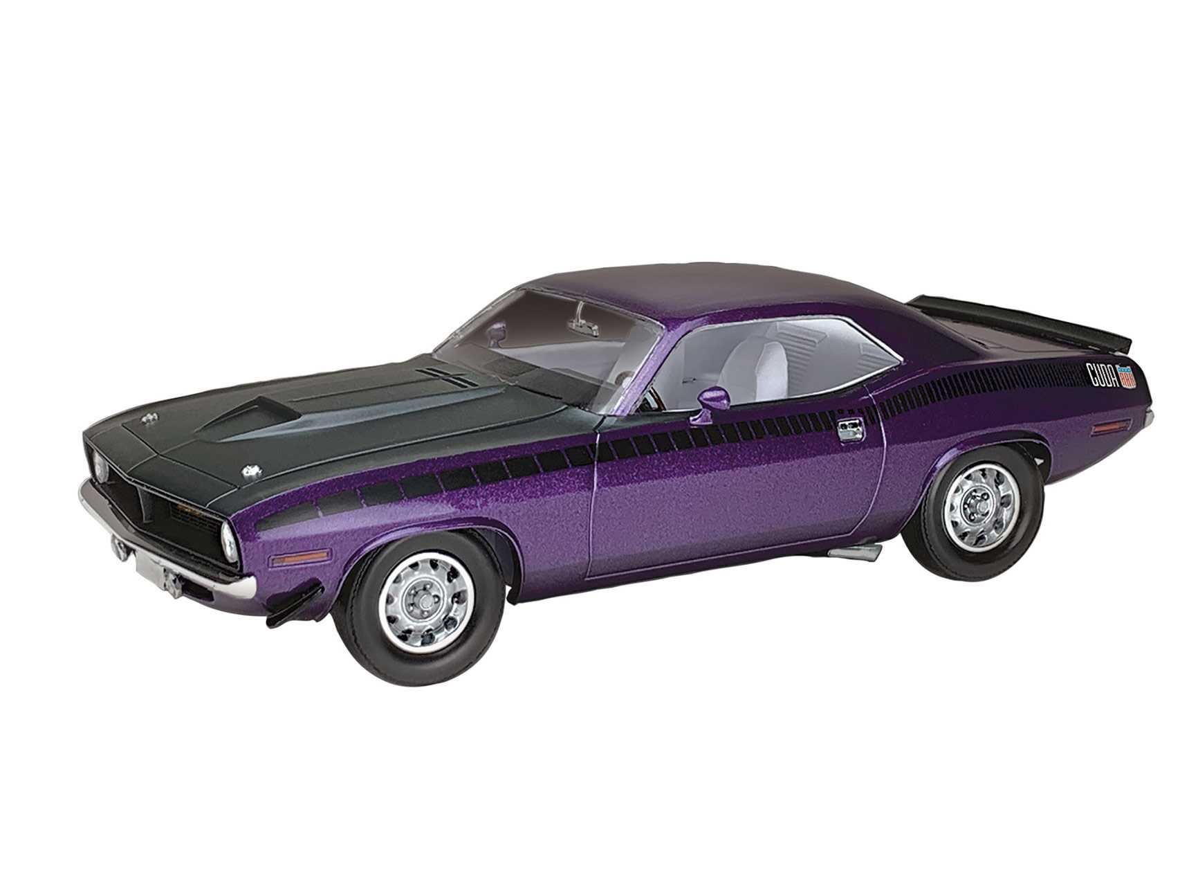 1:25 Plymouth AAR Cuda (1970) Model Set