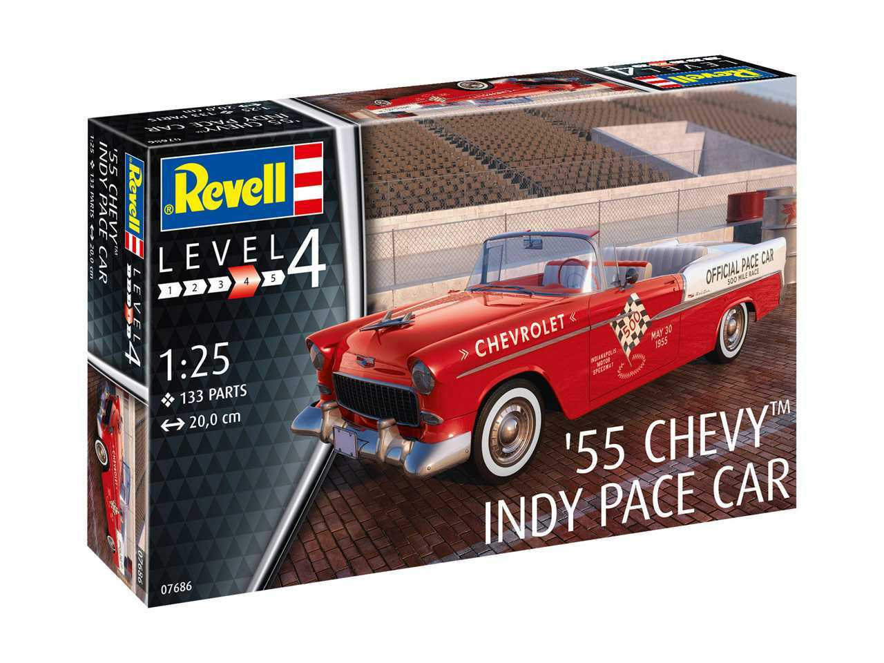 1:25 Chevy Indy Pace Car 1955 (Model Set)