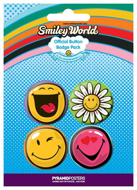 Placka set - Smiley 2 - 4x38mm