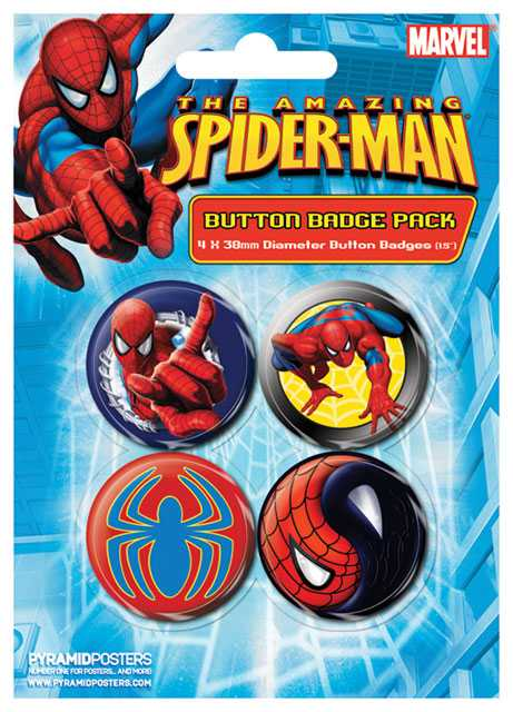 Placka set - Spiderman