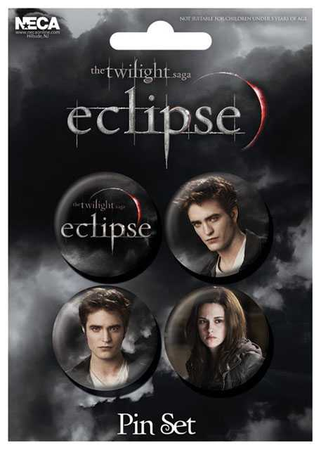 Placka set - Twilight saga - Eclipse - 4x38mm