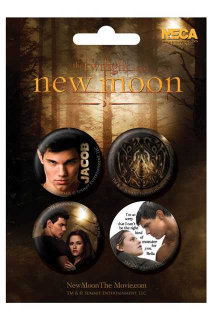 Placka set - Twilight saga - New Moon - Jacob - 4x38mm