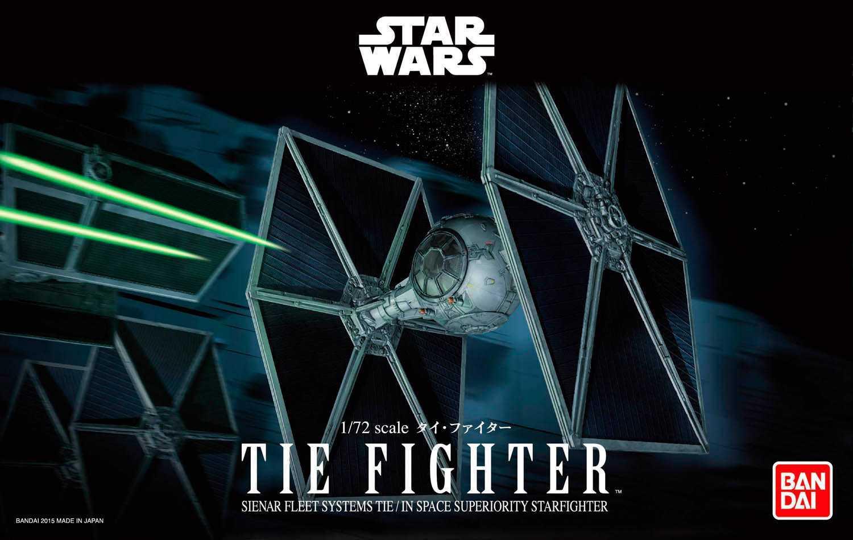 1:72 TIE Fighter, Star Wars (Bandai)