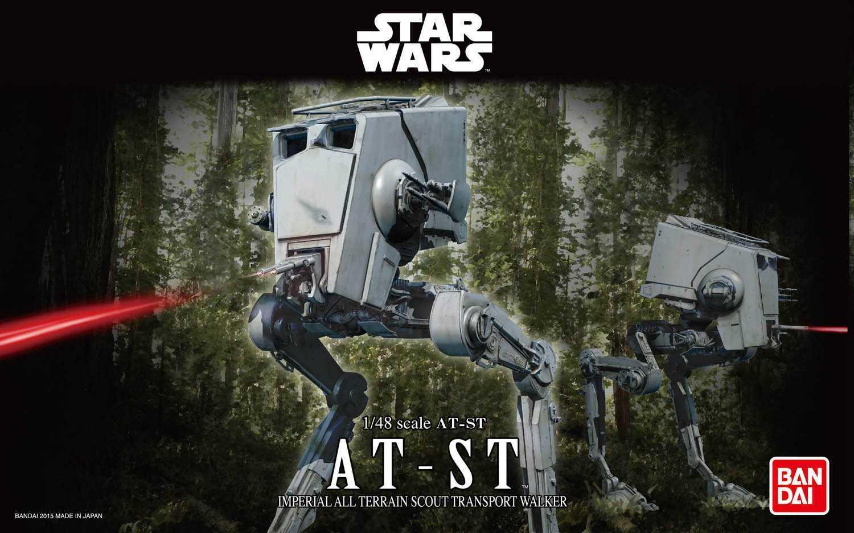 1:48 AT-ST, Star Wars (Bandai)
