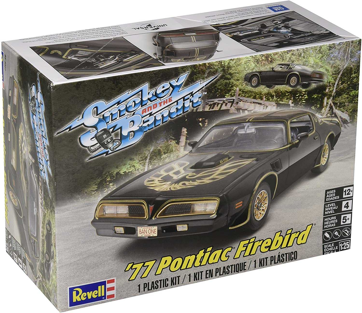 Revell - Monogram - auto 4027 - Smokey and the Bandit 77 Pontiac Firebird 1:25