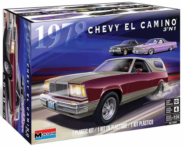 1:24 '78 Chevy El Camino 3 in 1