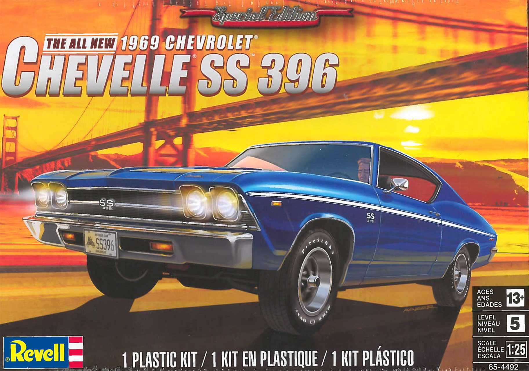 1:25 Chevrolet Chevelle SS 396 (1969)