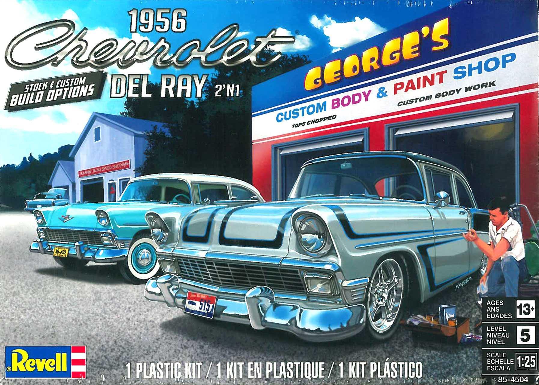 1:25 '56 Chevy Del Ray