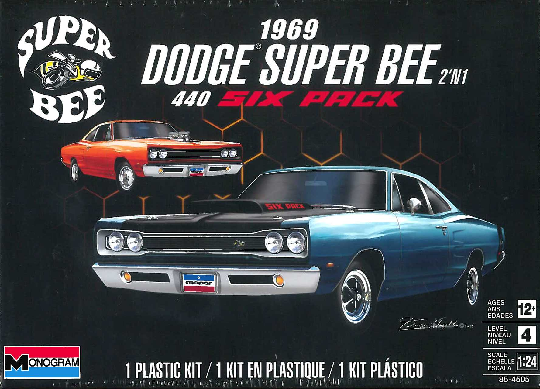 1:24 '69 Dodge Super Bee