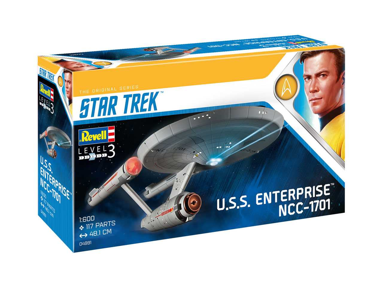 1:600 U.S.S. Enterprise NCC-1701 (TOS)