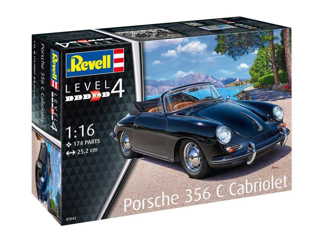 Náhled produktu - 1:16 Porsche 356 Cabriolet