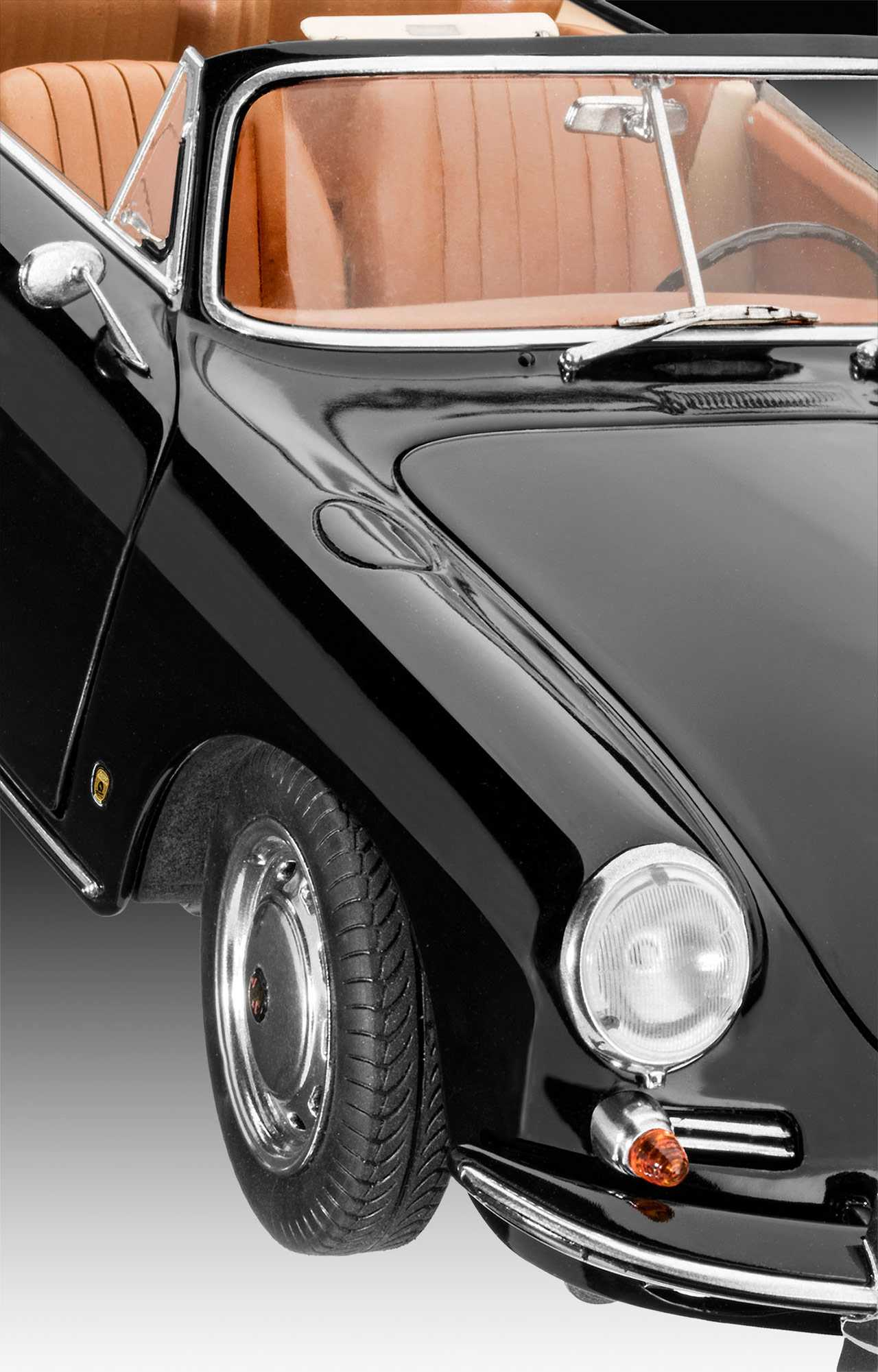 1:16 Porsche 356 Cabriolet
