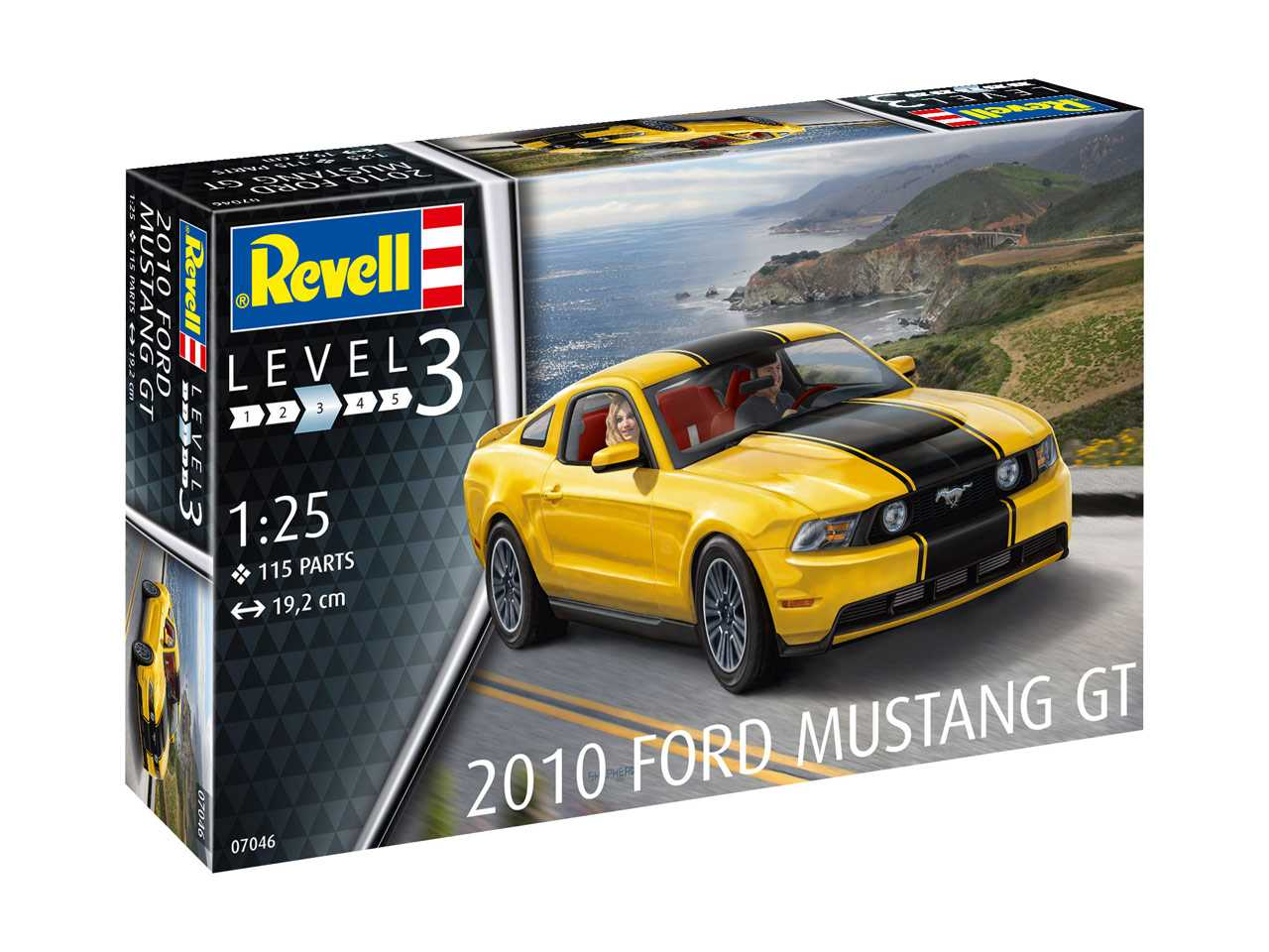 1:25 Ford Mustang GT, 2010