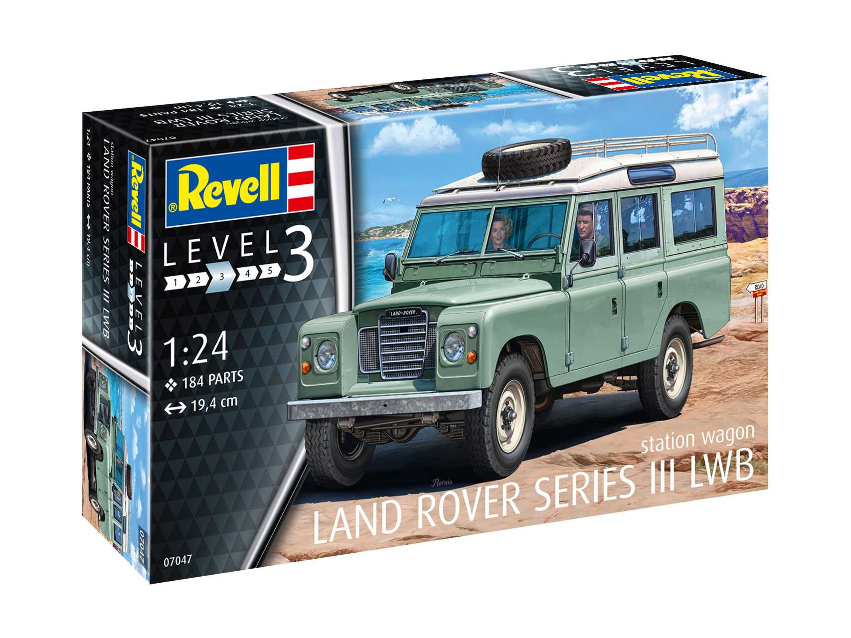 1:24 Land Rover Series III