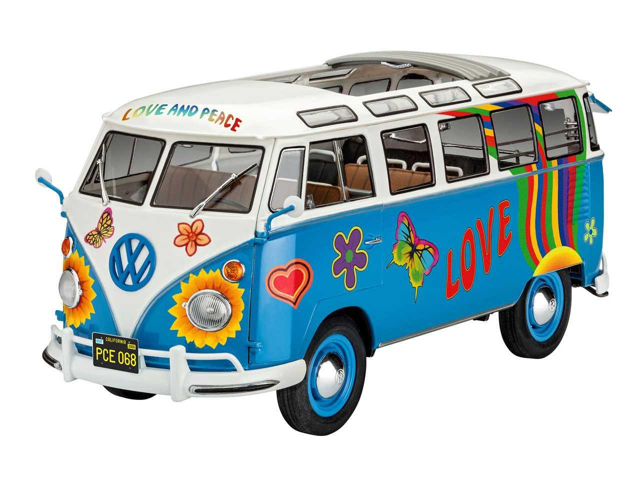 1:24 VW T1 Samba Bus ″Flower Power″