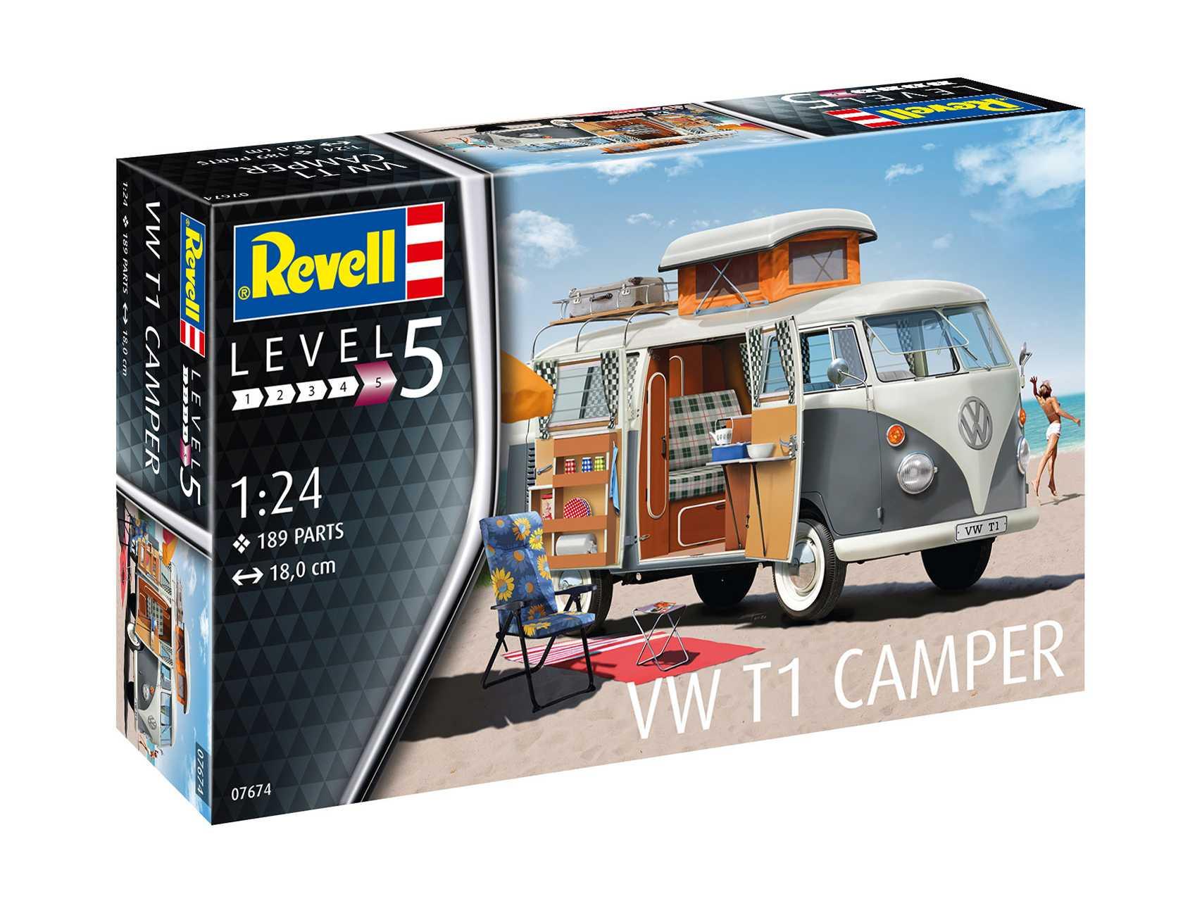 1:24 VW T1 Camper